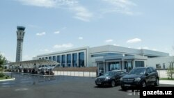 Ташкент аэропорту.