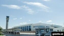 Ташкент эл аралык аэропорту.