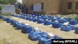کمک به بیجا شدهگان فاریاب