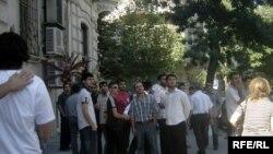 Etiraz aksiyası, 1 sentyabr 2009