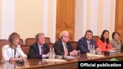 Ամերիկացի կոնգրեսականները Հայաստանի Ազգային ժողովում: 19-ը սեպտեմբերի, 2017 թ․