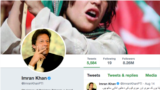 Pakistan's new Prime Minister Imran Khan has one of the largest twitter following in the country.