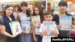 """Кырымтатар балалары """"Әллүки"""" журналы белән"""