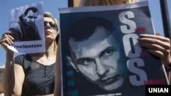 Акції на підтримку Олега Сенцова проходять на різних континентах