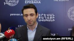 Мэр Еревана Айк Марутян (архив)