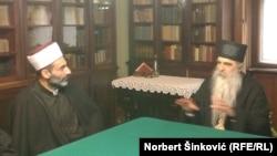 Muftija Muhamed Jusufspahić i vladika bački Irinej, Novi Sad, 26. novembar 2015