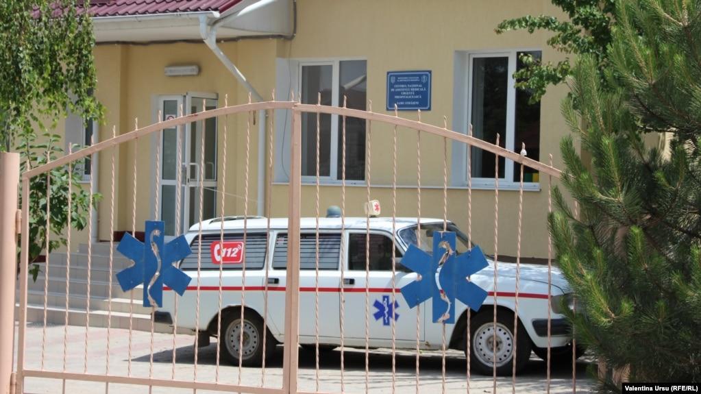 Moldova - The hospital at Strășeni