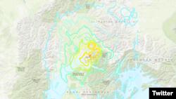 Земјотрес со сила од над 7 степени според Рихтеровата скала ја погоди Алјаска