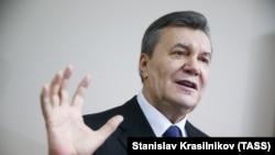 Former Ukrainian President Viktor Yanukovych (file photo)