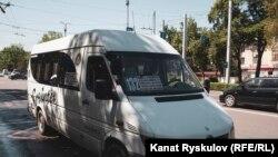 Бишкектеги маршруттук такси.
