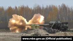 Ілюстративне фото. Збройні сили України проводять випробування артилерійських снарядів, гранат для АГС та мін для мінометів на військовому полігоні у Дівичках, Київська область