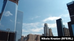 "Нью-Йорк, ""Граунд Зеро"". Сентябрь 2011 г"