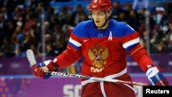 Лідер збірної Росії, зірка НХЛ Олександр Овечкін