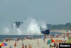 Учения Балтийского флота России в Калининградской области. Август 2013 года