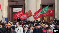 Луганськ ще без «Градів»: проросійський мітинг 7 квітня 2014 року