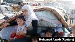 Сириялык качкындар. Ливан, 28-июнь, 2018-жыл.