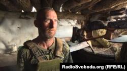 Військовослужбовець ЗСУ з позивним «Моня»