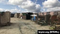 Місце зйомок фільму «Пальміра»