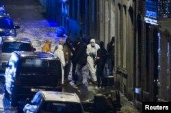 Poliția belgiană în acțiune