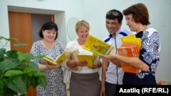 Гүзәлия Муллачанова, Алевтина Манкаева һәм Халидә Кирамованың шатлыклары эчләренә сыймый