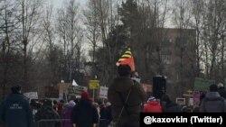 "Митинг в защиту парка ""Торфянка"" 21.02.2016"