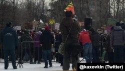"Митинг в защиту парка ""Торфянка"""