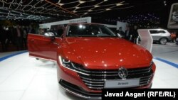 Switzerland -- Volkswagen arteon car at the the Geneva International Motor Show. Europe's biggest annual car show, March2017
