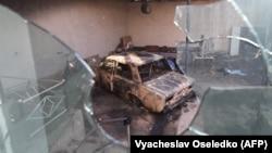 Последствия погромов в селе Булар-батыр Кордайского района Жамбылской области. 8 февраля 2020 года.