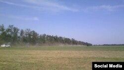 Фермерлар Мәскәүгә бару өчен басулардан чыгып китә