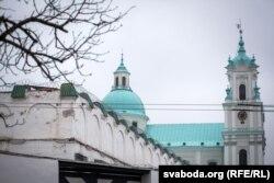 Турма № 1 у Горадні, у будынку былога езуіцкага кляштара побач з фарным касьцёлам