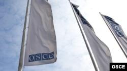 Zastava OEBS-a (Organizacija za evropsku bezbednost i saradnju)