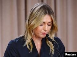 Мария Шарапова признается в употреблении мельдония. Лос-Анджелес, 7 марта
