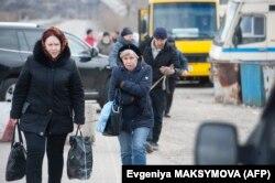 КПВВ Новотроицкое, 16 марта 2020 года