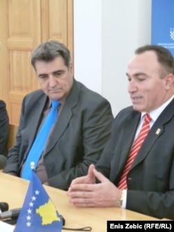 Agim Shahini gjatë një takimi në Zagreb në fillim të këtij viti...
