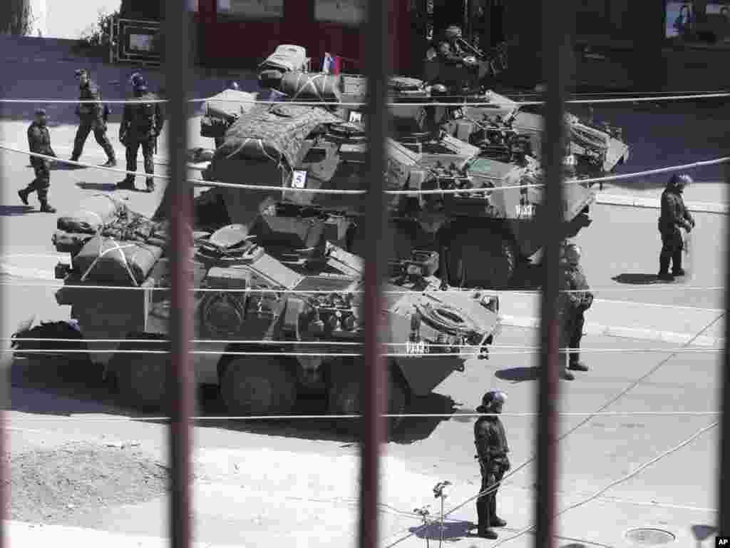 Sloveniya sülhməramlı qüvvələri. 28 iyul.