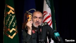 Brigadier General Hossein Salami, second-in-command of the Islamic Revolutionary Guard Corps.