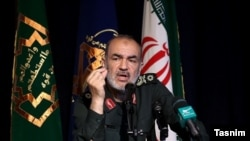 Brigadier General Hossein Salami, second-in-command of IRGC.