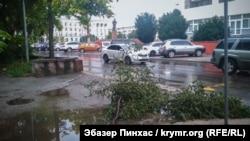 Дощ у Сімферополі 18 липня 2018 року