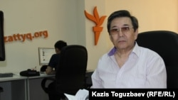 Кайдар Алдажуманов, историк. Алматы, 8 мая 2015 года.