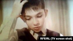 Сын Валерия Руслан Салказанов в школе