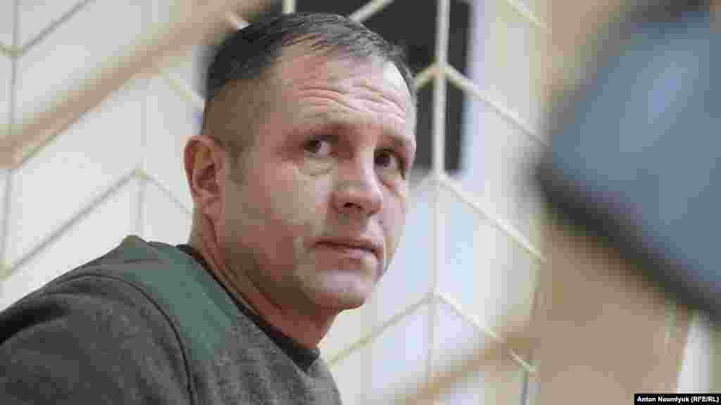 Володимир Балух на засіданні суду