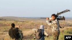 Либияи ҳамчунон оғуштаи хун