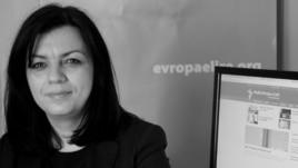 RFE/RL's Kosovo unit head Arbana Vidishiqi