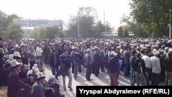 """Митинг в поддержку """"атажуртовцев"""". 16 октября 2012 года"""