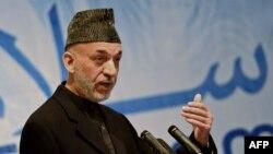 Ауғанстан президенті Хамид Карзай. Кабул, 4 ақпан 2014 жыл.