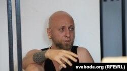 Удзельнік дыскусіі - Вячка Касінер. Фота Ўладзіслава Барысевіча