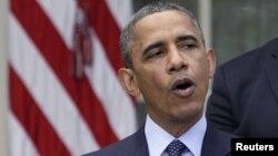 Американскиот претседател Барак Обама