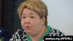 Гульмира Боранбаева, секретарь комиссии по делам женщин при акимате Южно-Казахстанской области.