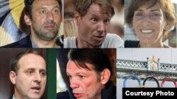 Vlade Divac, Moka Slavnić, Đurđica Bjedov, Andrija Popović, Anton Josipović