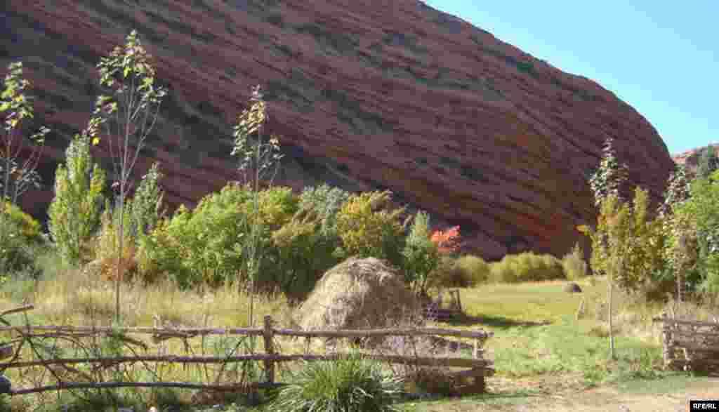 Осень в горах Иссык-Куля #5